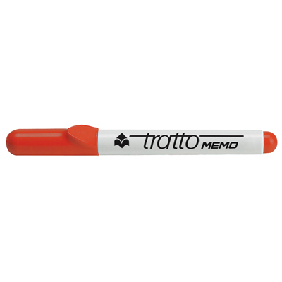MARKER FILA TRATTO MEMO M 8540 PUNTA TONDA ROSSO
