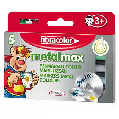 PENNARELLI FIBRACOLOR METAL MAXI PZ.5