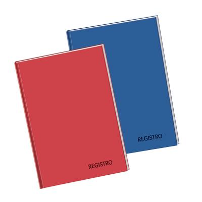 REGISTRO TELATO CARTONATO A4 FG.96+2 GR.60 5MM