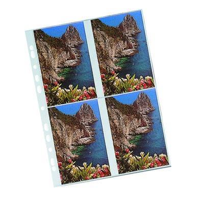 BUSTA PPL FORATURA UNIVERSALE 10X15 PER 4 FOTO PZ.10