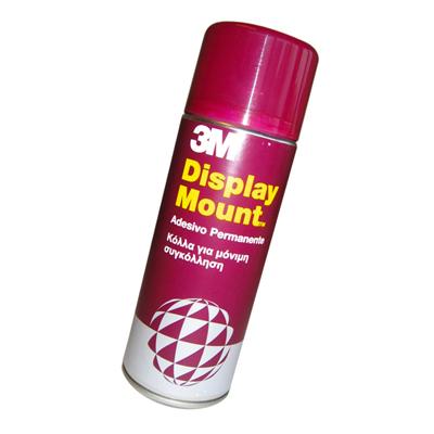 COLLA SPRAY 3M DISPLAY MOUNT PERMANENTE 400 ML