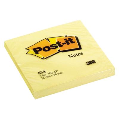 POST-IT 654 76X76 GIALLO