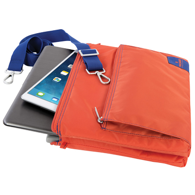 "BORSA PORTA NOTEBOOK LAMPO SLIM BAG 13"" ARANCIO"