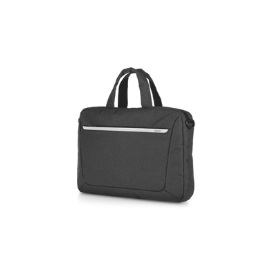 BORSA PORTACOMPUTER 2 MANICI SLIM IN TELA JOB NERO
