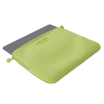 "CUSTODIA PER NOTEBOOK COLORE SECOND SKIN 11""-12"" VERDE"