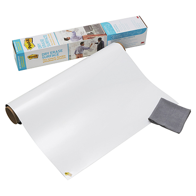 LAVAGNA CANCELLABILE POST-IT SUPER STICKY IN ROTOLO 91,4X121,9