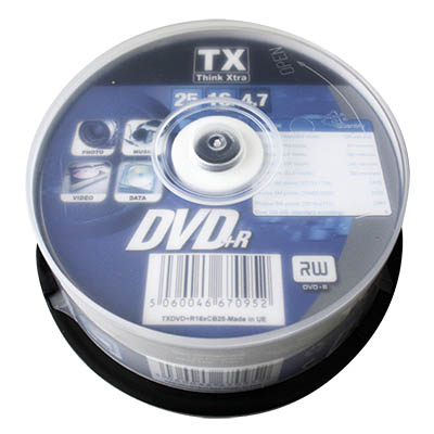 DVD+R 4.7 GB THINK XTRA CAMPANA PZ.25