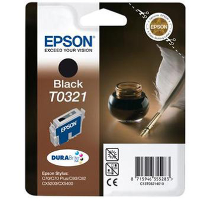 INK COMPATIBILE EPSON T032140 NERO