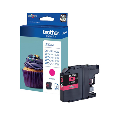 INK BROTHER LC123M MAGENTA