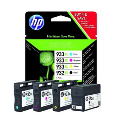MULTIPACK HP 932/933 XL 4 COLORI C2P42A