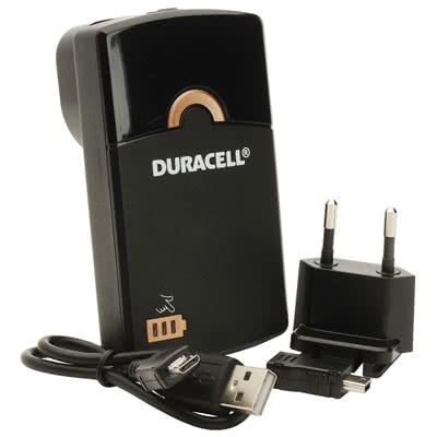 CARICATORE DURACELL PORTATILE USB