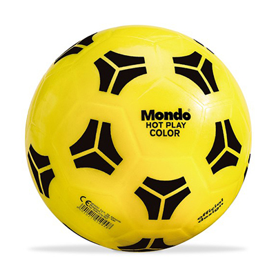 PALLONE IN GOMMA HOT PLAY FLUORESCENTE DIAMETRO 23 CM