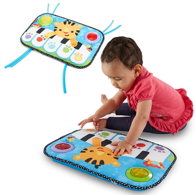 GIOCO MUSICALE FISHER PRICE PIANO SOFFICE APPENDIBILE
